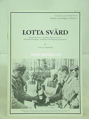 Lotta Svärd. Finnish Woman's Auxiliary Defense Service,: Kjellström, Sven A.G.,: