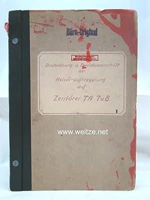 Beschreibung und Betriebsvorschrift der Heizöl-Luftregelung für die Oeldruck-Brenner OE 2 für die ...