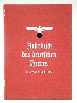 Jahrbuch des deutschen Heeres 1937,: Jost, Walter,: