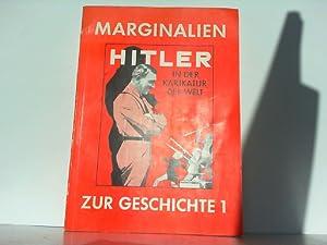 Marginalien zur Geschichte 1: Hitler in der: Bassermann'sche Buchhandlung (Herausgeber),: