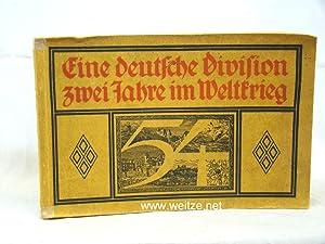 Eine deutsche Division zwei Jahre im Weltkrieg,: Habbig, Ernst (Herausgeber im Auftrage der 54. ...