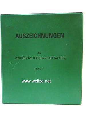Auszeichnungen der Warschauer Paktstaaten,: N.N. (Bundesministerium der Verteidigung),: