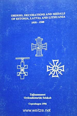 Orders, Decorations and Medals of Estonia, Latvia: Kavaliauskas, V.,: