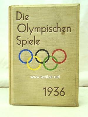 Die Olympischen Spiele 1936,: Hoffmann/Haymann,: