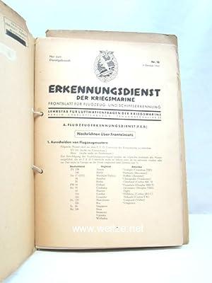 Erkennungsdienst der Kriegsmarine.: Lehrstab für Luftwaffenfragen