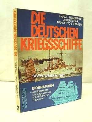 Die deutschen Kriegsschiffe,: Hildebrand/Röhr/Steinmetz,: