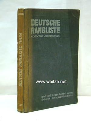 Deutsche Rangliste umfassend das gesamte aktive Offizierkorps der deutschen Armee und Marine und ...