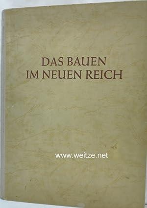 Das Bauen im neuen Reich,: Troost, Prof. G (Herausgeber),: