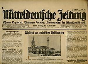 Erfurter Tagesblatt, Thüringer Zeitung, Handelsblatt für Mitteldeutschland,: Mitteldeutsche Zeitung...
