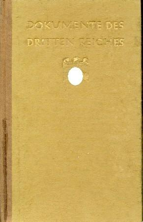 Dokumente des Dritten Reiches,: Maier-Hartmann, F.,: