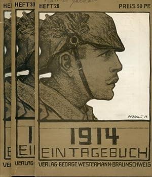 1914 - Ein Tagebuch/1914 - 1916 - Eintagebuch,: Engel, E.,: