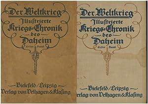 Der Weltkrieg - Illustrierte Kriegs-Chronik des Daheim: Hoetsch, Prof. Dr.