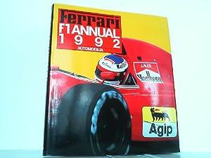 Ferrari Formula 1. Annual 1992. Auf Englisch, Italienisch und Französich !: Benzing, Enrico: