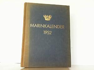 Marinkalender 1952. Argang 15. Utgiven av Sveriges Flotta. Förening för Sjövärn och Sjöfart.: ...