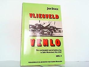Vliegveld Venlo met een kroniek van luchtoorlog: Derix, Jan:
