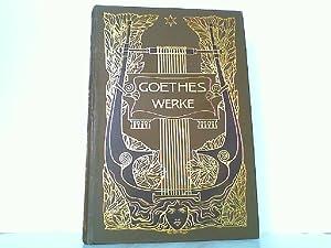 Goethes Werke : Illustrirt von ersten deutschen Künstlern. Hier nur Band 3 !!: Goethe, Johann ...