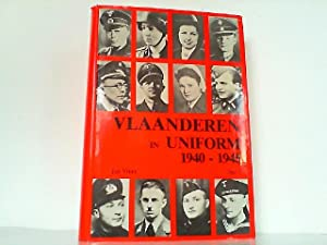 Vlaanderen in uniform 1940-1945. Hier nur Teil: Vincx, Jan: