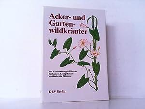 Acker- und Gartenwildkräuter. Ein Bestimmungsbuch. Mit 3 Bestimmungsschlüsseln für Samen, ...