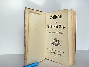 Halladat oder Das rothe Buch. Zum Vorlesen in den Schulen.: Gleim, Johann Wilhelm Ludwig: