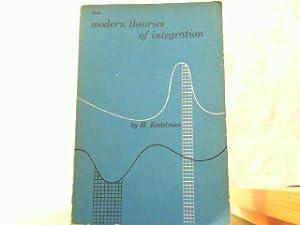 Modern theories of integration.: Kestelman, H.: