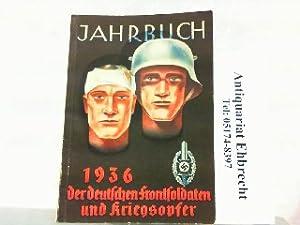 Jahrbuch der deutschen Frontsoldaten und Kriegsopfer 1936.: Oberlindober, Hanns (Reichskriegsopferführer):