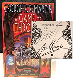 A Game of Thrones (DOUBLE SIGNED): George R. R.