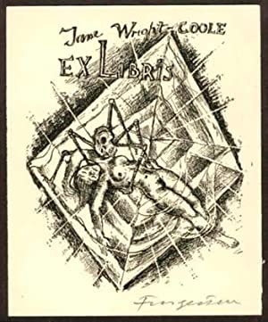 Exlibris für Jane Wright-Coole.
