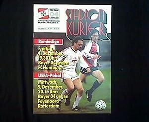 Europapokal-Programmheft: Bayer 04 Leverkusen - Feyenoord Rotterdam.: Meiswinkel, Richard: