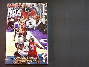 NBA-Register Official NBA Register 1998-99 Edition.: Bonavita, Mark, Mark Broussard and Brendan ...