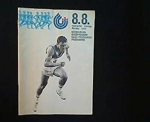 The First IAAF Worldchampionships Helsinki 1983. Daily