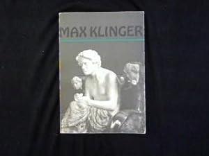 Max Klinger. 1857-1920.: Winkler, Gerhard (Vorwort):