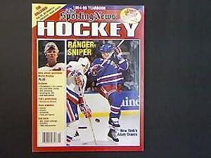 The Sporting News 1994-95 Hockey Yearbook.: Pandolfi, Francis P.: