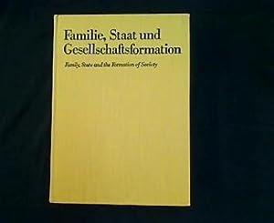 Familie, Staat und Gesellschaftsformation. Grundprobleme vorkapitalistischer Epochen: Herrmann, Joachim und