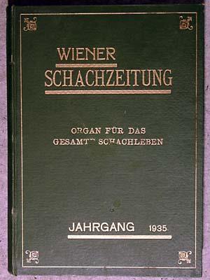 Wiener Schach-Zeitung. Jahrgang 1934 vollständig. Nrn.1-23/24.