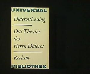 Das Theater des Herrn Diderot. Anhang: Gotthold: Diderot, Denis und