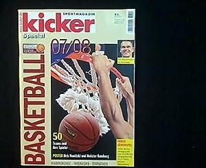 Basketball Special 07/08.: Kicker Sportmagazin (Hg.):