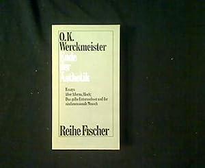 Ende der Ästhetik.: Werckmeister, O[tto] K[arl]: