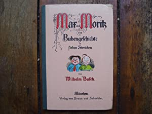 Max Und Moritz Eine Bubengeschichte in Sieben: Wilhelm Busch