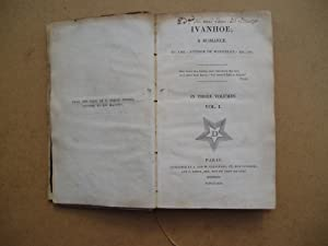 Ivanhoe - A Romance.: Sir Walter Scott