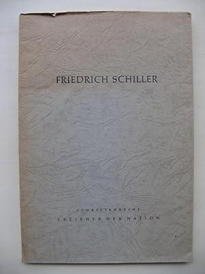 Friedrich Schiller: Über die ästhetische Erziehung des: Schiller: Bunge, Ruth