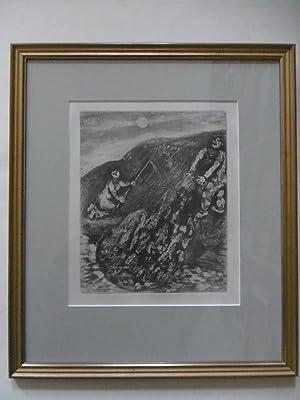 Les poissons et le Berger qui joue: Chagall, Marc (1887-1985):