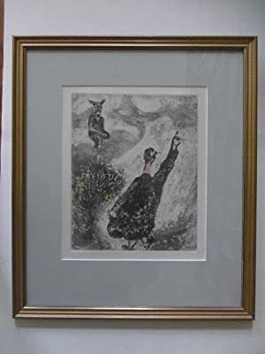 Le Charlatan / Der Marktschreier. (Blatt 71: Chagall, Marc (1887-1985):