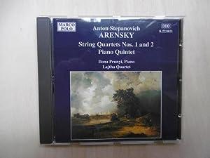 Anton Stepanovich Arensky (1861 - 1906): String: Arensky] Prunyi /