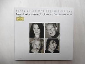 Brahms: Klavierquintett op.25 / Schumann: Fantasiestücke op.88.: Brahms /Schumann] Argerich