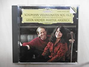 Robert Schumann (1810 - 1856): Violinsonaten Nr.1: Schumann] Kremer /