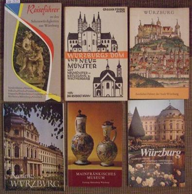 Würzburg. Konvolut von sechs Titeln zum Thema.: Kuhn, Rudolf: