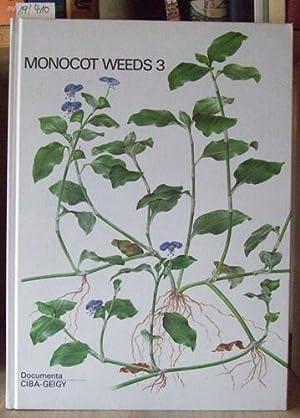 Monocot weeds excluding grasses / Einkeimblättrige Unkräuter: Häfliger/Kühn/Hämet-Ahti/Cook/Faden/Speta: