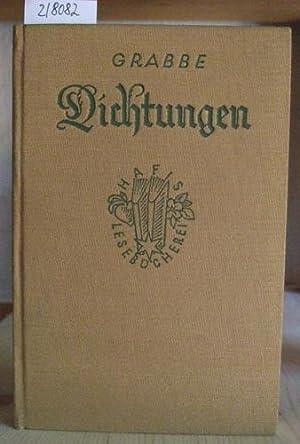 Dichtungen.: Grabbe, Christian Dietrich: