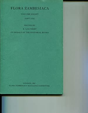 Flora Zambesiaca Volume 8 Part 1: Pope, G