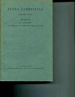 Flora Zambesiaca Volume 4: Launert, E